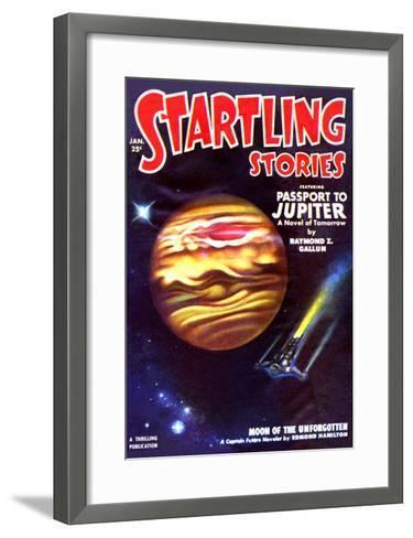 Passport to Jupiter--Framed Art Print