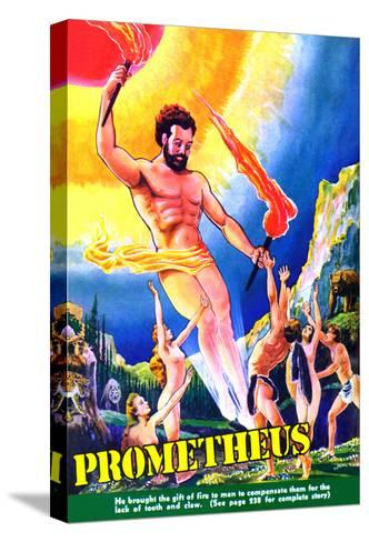 Prometheus-Frank R^ Paul-Stretched Canvas Print