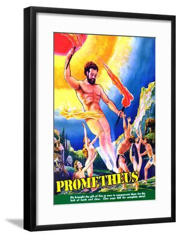 Prometheus-Frank R^ Paul-Framed Art Print