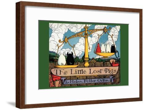 The Little Lost Pigs-Luxor Price-Framed Art Print