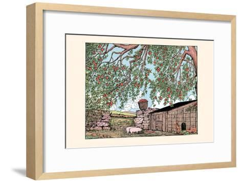 My! What Grand Ears They Have! Said Rosaline-Luxor Price-Framed Art Print