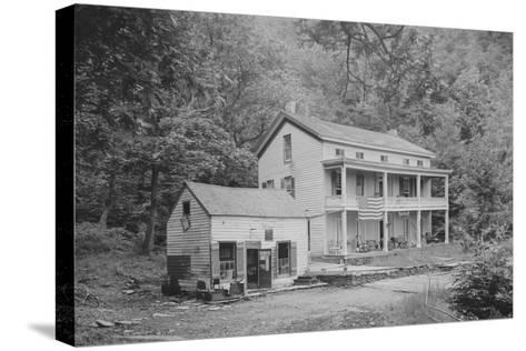 Rip Van Winkle House, Sleepy Hollow, Catskill Mountains, N.Y.--Stretched Canvas Print