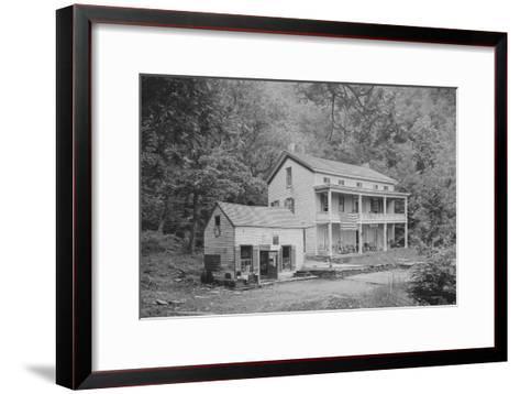 Rip Van Winkle House, Sleepy Hollow, Catskill Mountains, N.Y.--Framed Art Print