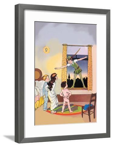 Peter Pan--Framed Art Print