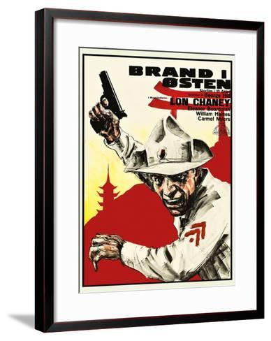 Tell it to the Marines--Framed Art Print