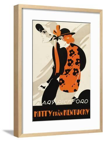 Kitty from Kentucky--Framed Art Print