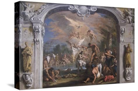 The Baptist of Christ-Sebastiano Ricci-Stretched Canvas Print