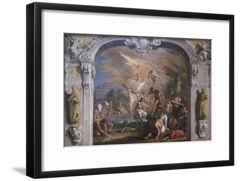 The Baptist of Christ-Sebastiano Ricci-Framed Art Print