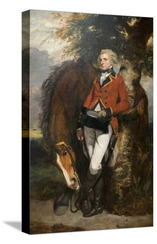 Captain George H. Coussmaker-Sir Joshua Reynolds-Stretched Canvas Print