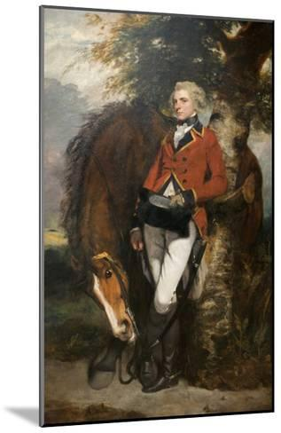 Captain George H. Coussmaker-Sir Joshua Reynolds-Mounted Art Print