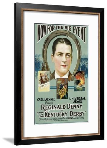 The Kentucky Derby--Framed Art Print