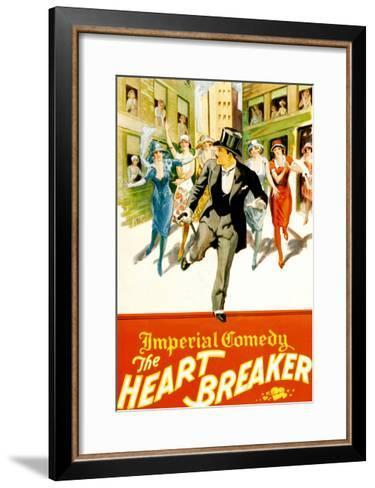 The Heart Breaker--Framed Art Print