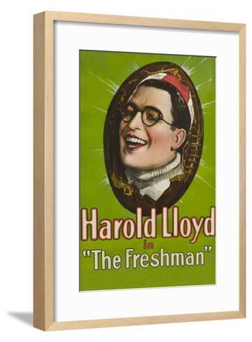 The Freshman--Framed Art Print