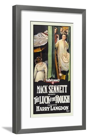 The Luck O' the Foolish-Mack Sennett-Framed Art Print