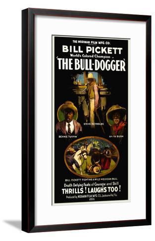 The Bull - Dogger- Norman Studios-Framed Art Print