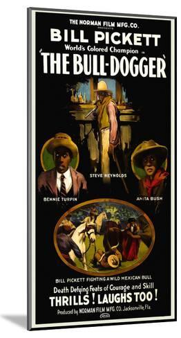 The Bull - Dogger- Norman Studios-Mounted Art Print