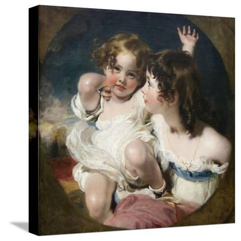 Calmady Children-Thomas Lawrence-Stretched Canvas Print