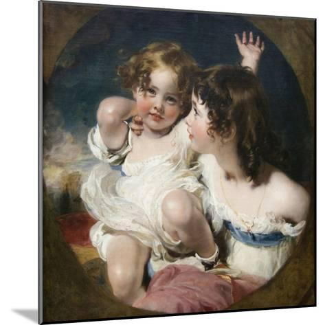 Calmady Children-Thomas Lawrence-Mounted Art Print