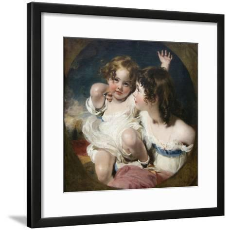 Calmady Children-Thomas Lawrence-Framed Art Print