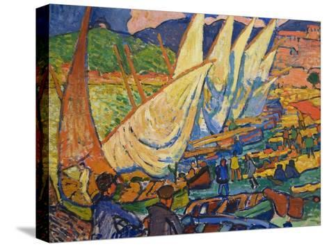 Fishing Boats, Collioure-Andre Derain-Stretched Canvas Print