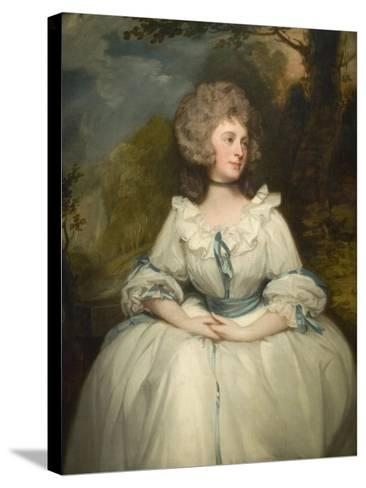 Lady Lemon-George Romney-Stretched Canvas Print