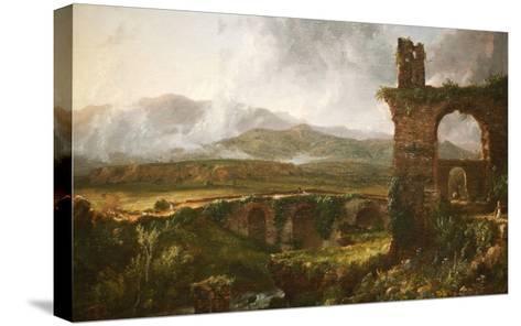 Morning View Near Tivoli-Thomas Cole-Stretched Canvas Print