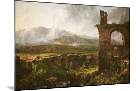 Morning View Near Tivoli-Thomas Cole-Mounted Art Print