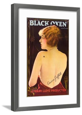 Black Oxen--Framed Art Print