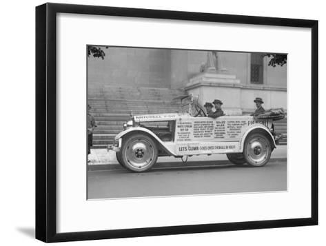 Mitchell Car Wins Endurance Runs and Performance on Icy Roads--Framed Art Print