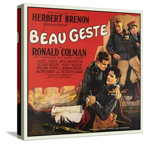 Beau Geste--Stretched Canvas Print