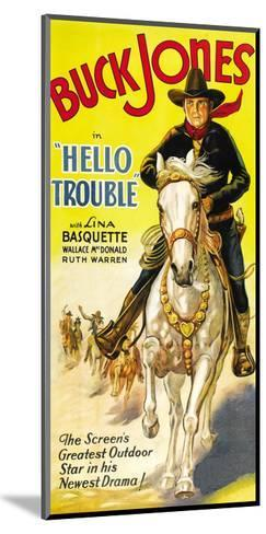 Hello Trouble--Mounted Art Print