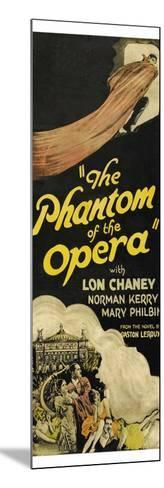The Phantom of the Opera--Mounted Art Print