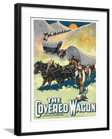 The Covered Wagon--Framed Art Print