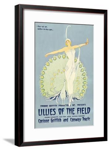 Lilies of the Field--Framed Art Print