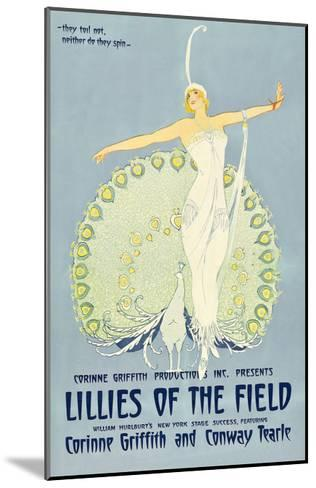Lilies of the Field--Mounted Art Print