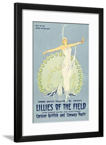 Lilies of the Field--Framed Art Print