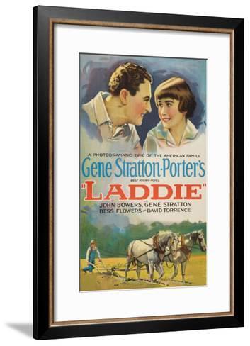 Laddie--Framed Art Print