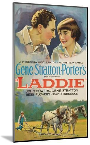 Laddie--Mounted Art Print