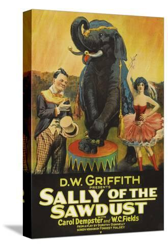 Sally of the Sawdust--Stretched Canvas Print