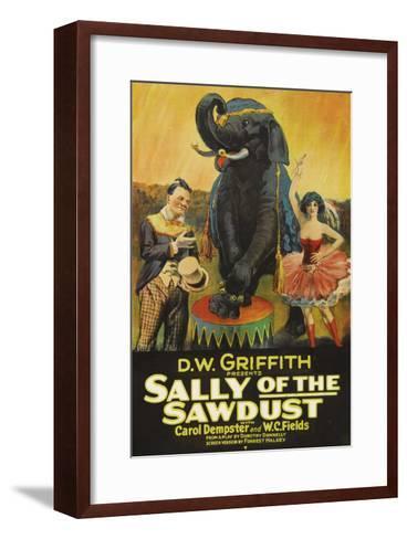 Sally of the Sawdust--Framed Art Print