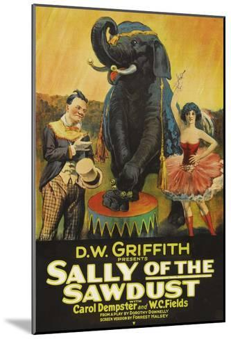 Sally of the Sawdust--Mounted Art Print