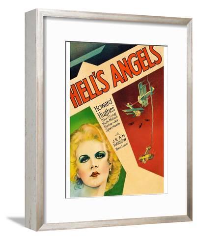 Hells Angels--Framed Art Print
