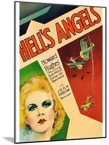 Hells Angels--Mounted Art Print
