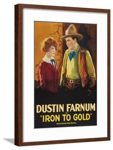 Iron to Gold--Framed Art Print