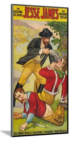 Jesse James--Mounted Art Print