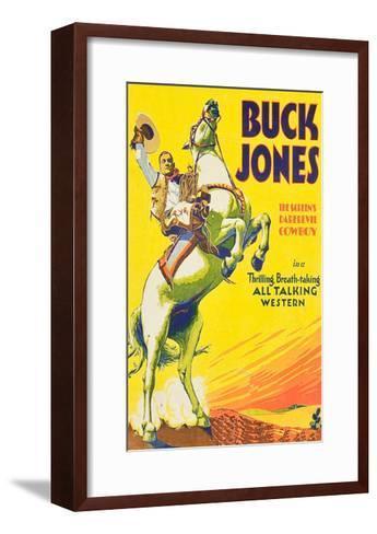 Buck Jones--Framed Art Print