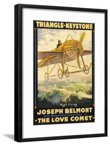 The Love Comet--Framed Art Print