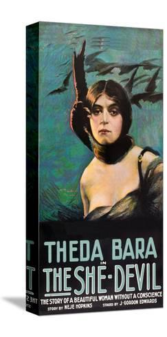 The She Devil--Stretched Canvas Print