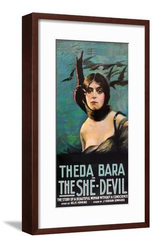 The She Devil--Framed Art Print