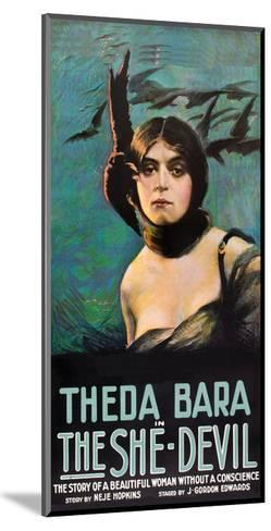 The She Devil--Mounted Art Print
